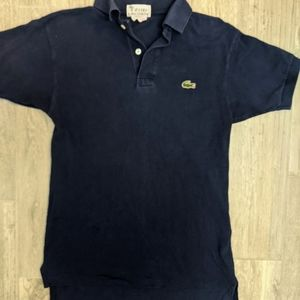 2/$30 Vintage Lacoste Navy Polo Shirt Small?